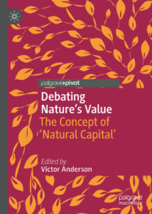 Front cover: Debating Nature's Value
